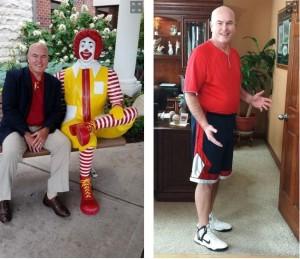 mangia al McDonald's per 6 mesi, perde 27 kg