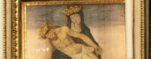 """Bergamo, la Madonna Addolorata """"restaurata"""" da un raggio di luce"""