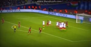 VIDEO YouTube - Messi, primo gol su punizione in Supercoppa