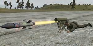 Un missile anti-carro