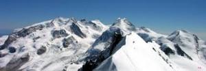 Monte Rosa, caldo record: superati i 9 grad