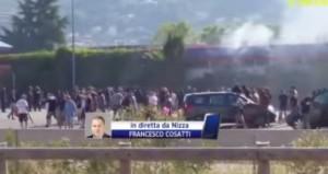 VIDEO YouTube Nizza-Napoli 2-3: scontri ultras-polizia fuori stadio e highlights