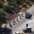 VIDEO YouTube - Vincenzo Nibali si fa trainare: addio Vuelta 04