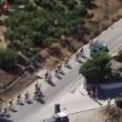 VIDEO YouTube - Vincenzo Nibali si fa trainare: addio Vuelta 05