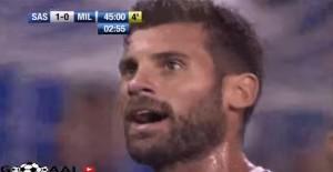 """VIDEO YouTube - Antonio Nocerino: """"Pezzo di m..."""" dopo gol"""