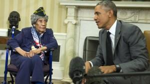 Emma Didlake, morta a 110 anni la più anziana veterana Usa