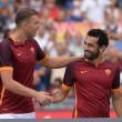 VIDEO YouTube - As Roma: presentazione Totti, Dzeko, Salah7