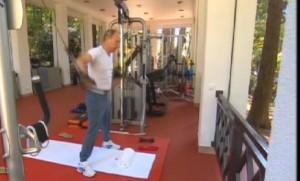 Putin e Medvedev si allenano insieme in palestra