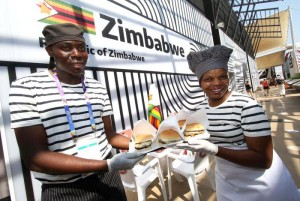 """Expo: dopo la carne di coccodrillo, lo Zimbabwe presenta lo """"Zebraburger"""""""
