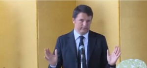 "Matteo Renzi: ""Il mio giapponese si ferma ad arigatò"""