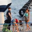 Jeremias Rodriguez a Formentera: Belen e Cecilia felicissime FOTO 6