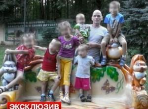 Russia, squarta i suoi sei figli e la moglie incinta: preso