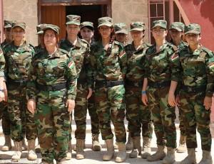 La Brigata delle violentate: 123 donne, reparto anti Isis