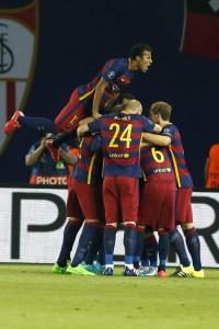 Supercoppa Europea: Barcellona Siviglia 5-4
