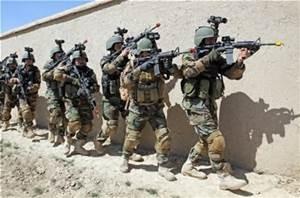 Soldati afghani
