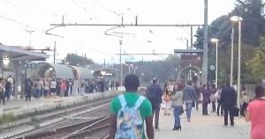 Roma, incendio a Maccarese: bloccati i treni per Fiumicino