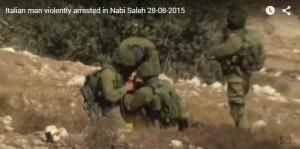 Video YouTube: Vittorio Fera, arrestato da soldati Israele