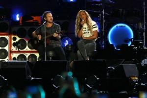 Beyoncè Eddie Vedder, duetto a Global Citizen