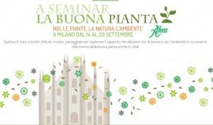 """""""A Seminar la Buona Pianta"""", Milano 14-20 settembre 2015"""