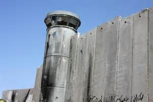 La barriera israeliana tra Betlemme e Gerusalemme
