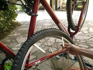 Bassano. Cade da bici su strada rovinata. Multata: 41 euro