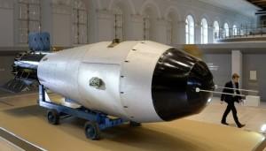 Bomba Zar, atomica più grande storia esposta a Mosca
