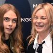Cara Delevingne-Kate Moss a Milano: scene di panico FOTO6