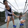 VIDEO YouTube - Cina, ponte di vetro a 180 metri di altezza 3