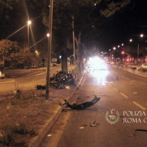 Roma, Colombo strada killer: il dosso e il giallo cartelli
