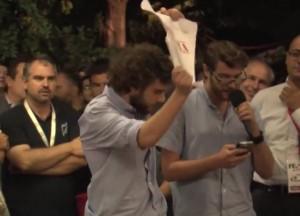 Video YouTube: Giannini contestata a festa Pd Torino
