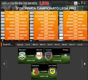 Cosenza-Akragas: streaming diretta Sportube tv su Blitz, ecco come vederla