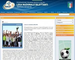 Serie D, Dilettanti 2015-16: GIRONE F, squadre e calendario