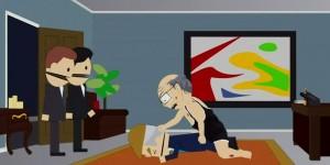 VIDEO YouTube - South Park, Donald Trump stuprato a morte