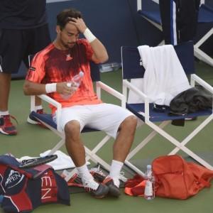 Tennis Us Open, Fognini out. Vinci ai quarti senza giocare