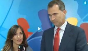 Eurobasket, la reporter dà del tu a Re Felipe di Spagna