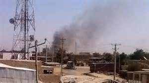 Kunduz City sotto le bombe