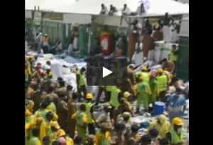 VIDEO CHOC La Mecca, istanti dopo tragedia. Corpi a terra...