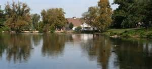 Il lago del parco di Garfield