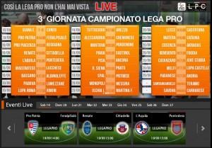 L'Aquila-Pontedera: streaming e diretta Sportube tv, ecco come vederla