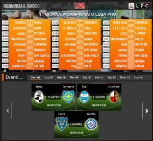 Lecce-Andria: diretta streaming Sportube su Blitz, ecco come vederla