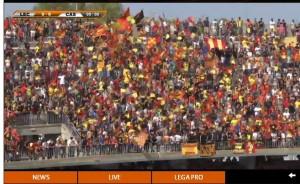 Lecce-Casertana: streaming diretta Sportube tv su Blitz