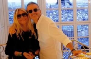 Mara Venier  su Tour Eiffel: presto anche in libreria