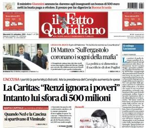 """Marco Travaglio: """"Il collega Lucianone"""""""