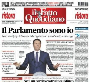 """Marco Travaglio sul Fatto Quotidiano: """"Mai dire mafia..."""""""