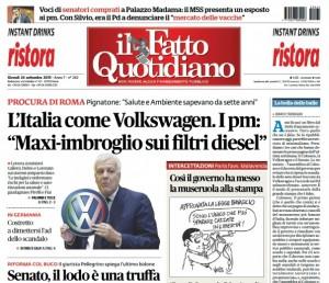 """Marco Travaglio sul Fatto Quotidiano: """"La bolla delle balle"""""""