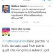 Matteo Salvini si complimenta con Florenzi, Renzi che fa cose risponde