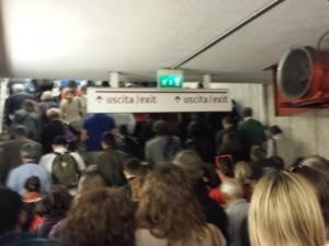 Roma, cede soffitto metro A: chiusa Ottaviano-San Giovanni