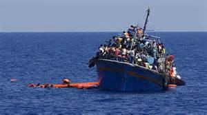 Migranti nel Mediterraneo
