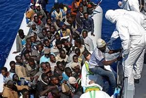 Migranti africani in Italia