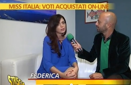 """VIDEO Miss Italia, concorrente: """"Voti in cambio di soldi"""""""